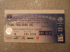 billet foot 2014-2015 FCGB Bordeaux