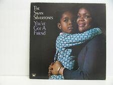 THE SWAN SILVERTONES 33 RPM YOU'VE GOT A FRIEND HOB RECORDS HBX 2156 VG++