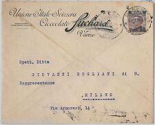 64049 - ITALIA  Regno - STORIA POSTALE: BUSTA PUBBLICITARIA  Varese SUCHARD 1924