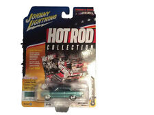 Johnny Lightning JLMC004 1965 Hot Rod Chevy Nova SS Version B Turquoise Poly