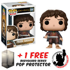 FUNKO POP LORD OF THE RINGS FRODO BAGGINS VINYL FIGURE + FREE POP PROTECTOR