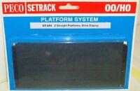 Peco 00 Setrack ST-290 Platform Straight - Brick. (00) Model Railway