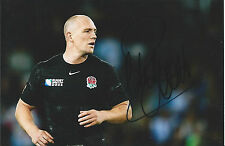MIKE TINDALL - Hand Signed 6x4 Photo - Gloucester England 6 Nations - Rugby