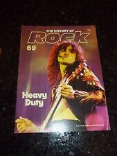 THE HISTORY OF ROCK - No 69 - HEAVY DUTY - Date 1983 - UK Music Magazine