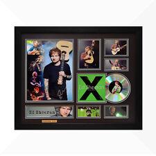 Ed Sheeran Signed & Framed Memorabilia - 1CD - Black/Green Edition