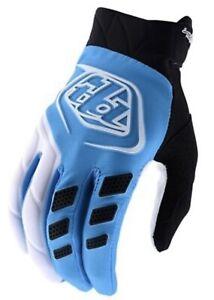Troy Lee Designs Motocross MTB Gloves Revox Ocean Blue Medium New