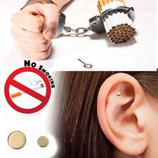 2pcs Magnetic Stop Quit Smoke Cigarettes Ear Acupressure Magnet Anti-smoking