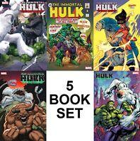 IMMORTAL HULK #33 5 Book Variant Set - 750th HULK - NM or Better
