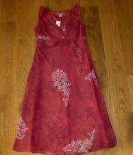 New $90 ANN TAYLOR Burgundy FLORAL Sleeveless DRESS Women 2 NWT