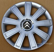 "4x15"" wheel trims, Hub Caps, Covers to fit Citroen Berlingo (Quantity 4)"