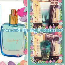 New Victoria Secret Incredible Daring Perfume /lotion/mist 3 Pieces Set Rare