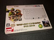 Nintendo 3DS LL XL Console Monster Hunter 4 Special Pack White Brand New