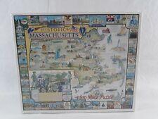 White Mountain Historic Massachusetts 1000 Piece Puzzle