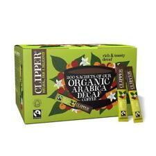 💚 Clipper Organic Latin American Arabica Decaf Instant Coffee 200 sticks