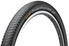 700c Bike Tyre Continental Double Fighter III Wire 700x37c Black