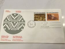 Stamps Canada 🇨🇦 Fdc - 1974 - Pacific Coast Indians, Scott # 571a