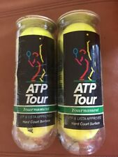 Vintage New Atp Tour Champion 3 Tennis Balls Lot of 2 - Sealed no caps