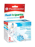 Fluidmaster  Flush N' Sparkle  Continuous Toilet Cleaning System Refill, 8102P8