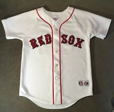 AUTHENTIC DAVID ORTIZ BOSTON RED SOX #34 HOME MAJESTIC JERSEY SZ Youth M