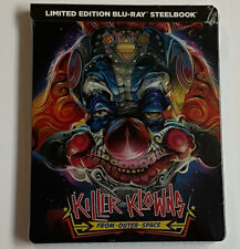 Killer Klowns from Outer Space (Limited Edition Blu-ray Steelbook, NEW) 1988