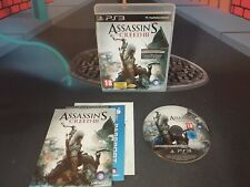 ASSASIN'S CREED III ASSASINS CREED 3 PAL ESP PLAYSTATION 3 PS3