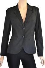 Spring Striped Regular Size Coats, Jackets & Vests for Women