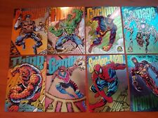 Complete set of 9 Marvel Universe Prism Power Blast & 6 Suspended Cards - 1994