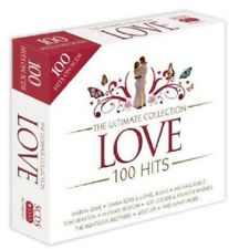 Love-Ultimate Collection-100 Hits 5-CD Box Set NEW SEALED Jackson 5/10cc/ABC+