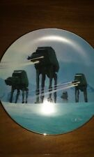 """New listing """"Imperial Walkers"""" Star Wars Trilogy Hamilton Collection Mib Coa"""