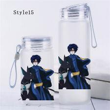 Anime Card Captor Sakura Glass Bottle Travel Cup Transparent Tea Cup Outdoor Cos