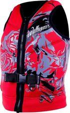 life jacket neoprene williams sector wakeboard water ski  jet 2018