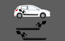 Renault Clio Mk3 3dr 2005-12 Cup Sport Style Side Stripe Graphics Decal Set 197