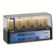 Ivoclar IPS Empress CAD for EverestLT A2 / V12 à 5 Stück Cerec inLab NEU/OVP