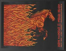 Todd Slater Poster Edward Sharpe Magnetic Zeroes 9/6/12 Ojai, CA art print