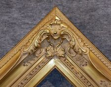 """4.5"""" WIDE Antique Gold Leaf Ornate Oil Painting Wood Picture Frame 780G - 20x24"""
