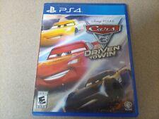 CARS 3 DRIVEN TO WIN (PS4) Disney Pixar