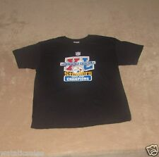 Pittsburgh Steelers NFL Black Superbowl 40 Champions T-Shirt Men's Size XL New