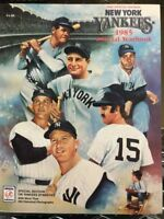 New York Yankees 1985 Official Yearbook