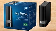 *New* WD My Book Premium Storage External Hard Drive - 4TB