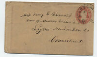 1850s Ashtabula Ohio U4 nesbitt envelope [5775.8]
