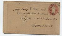 1850s Ashtabula Ohio U4 nesbitt envelope [5775.8]