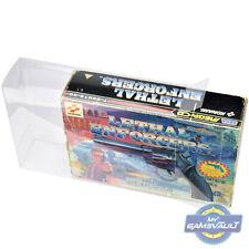 Lethal Enforcers Game & Gun BOX PROTECTOR for Sega Mega CD 0.5mm DISPLAY CASE
