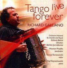 CD de musique live tango