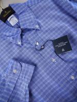 Brooks Brothers Oxford Shirt BD Collar Blue Regent Slim Fit NWT $140 USA New