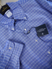 Brooks Brothers Oxford Shirt BD Collar Blue Regent Slim Fit NWT $140 USA New