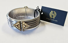 House of Harlow 1960 Central Highlands Reflection Cuff Bracelet - Silver $98 NWT