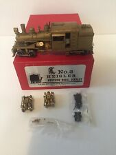 HO/HOn3 West Side Models Heisler No.3 Engine, Extra Set Of Trucks, Parts Packet
