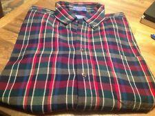 Pendleton 100% Wool Made USA - Mens Button Front Shirt Size L - Plaid