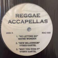 Reggae Accapellas Vol 1 Vinyl Record Dancehall Beenie Man Vybes Kartel Elephant