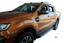 DFO15304 Ford Ranger  2012 - 2017  wind deflectors  4DOOR  4pc  set TINTED HEKO
